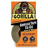 ゴリラ(Gorilla) 超強力ダクトテープ (25mm幅x9.1m, ブラック) [並行輸入品]