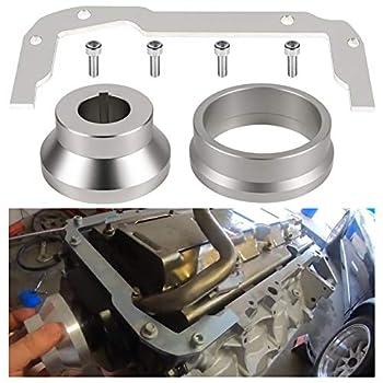 Front and Rear Cover Billet Alignment Tool & Oil Pan Alignment Tool Fits for LS Series Engines 4.8 5.3 5.7 6.0 LS1 LS2 LS3 LS6 L99 LS9 LSA LQ4