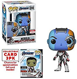 Funko Pop! Marvel Avengers Nebula (Endgame) with Collective Card EE Exclusive