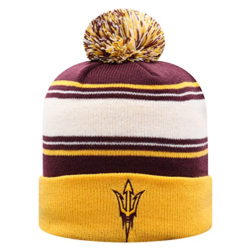 Top of the World Arizona State Sun Devils Men's Ambient Warm Team Icon Knit Hat, One Fit