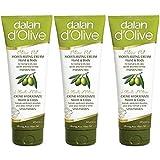 3 x Dalan d'Olive Hand & Körper Feuchtigkeitscreme für normale bis trockene Haut - 250 ml