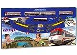 PEQUETREN Cercanías Renfe con Diorama Paisaje (Servicios e Industrias del Juguete 680), Color Via Negra