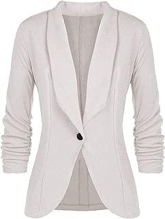 FIRERO Fashion Women OL Style Three Quarter Sleeve Blazer Elegant Slim Suit Coat