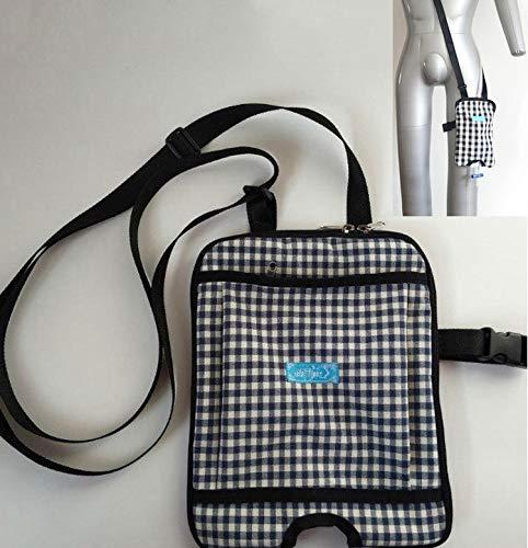 GHzzY Tragbarer Katheter-Aufbewahrungsbeutel - Urinkatheter-Beutel für zu Hause und unterwegs - Stomadrainage-Beutel-Pflegepaket - Urindrainage-Beutelhalter,1000ml