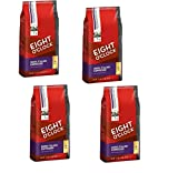 Eight O'Clock Coffee, Dark Italian Roast Ground, Espresso 11.5-Ounce Bags (Pack of 4)