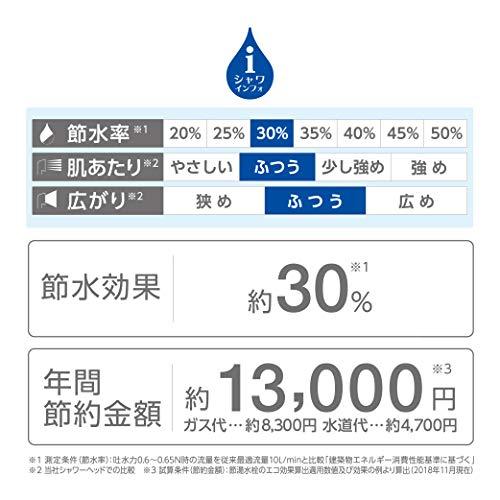 SANEI『浄水切替えシャワー(PS7964-80XA-MW2)』