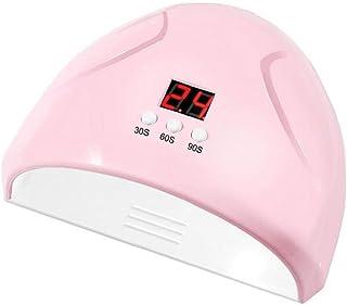 LAANCOO LED Pink lámpara de Esmalte de uñas 36W uñas Sensor Inteligente secador de Esmalte de 3 Modos Gel secador de Esmalte de uñas de curado rápido de la lámpara de curado UV máquina de uñas
