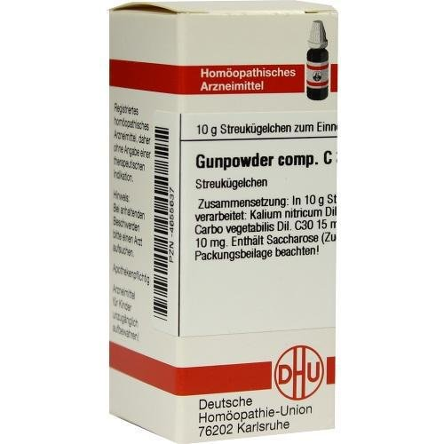 GUNPOWDER comp. C 30 Globuli 10 g