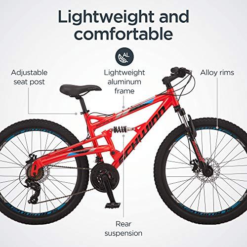 51PETsBWZRL. SL500 Schwinn Discover Hybrid Bike for Men and Women