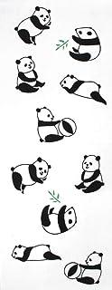 手ぬぐい パンダ 注染手ぬぐい 日本製 約90×35cm