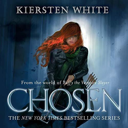 Diseño de la portada del título Chosen