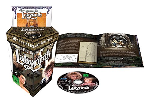 Die Reise ins Labyrinth (30th Anniversary Gift Set + Digibook)(exklusiv bei Amazon.de) [Blu-ray]
