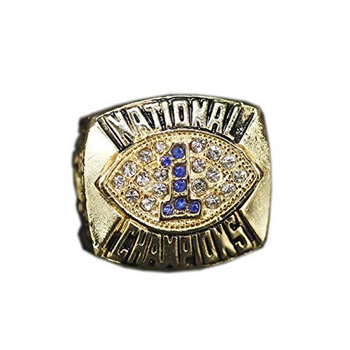 Fei Fei NCAA 1986 Penn State University Nittany Lions Championship Ring Anillos de Hombre, Championship Anillo de réplica Personalizado Anillos de Diamantes para Hombres,with Box,11#