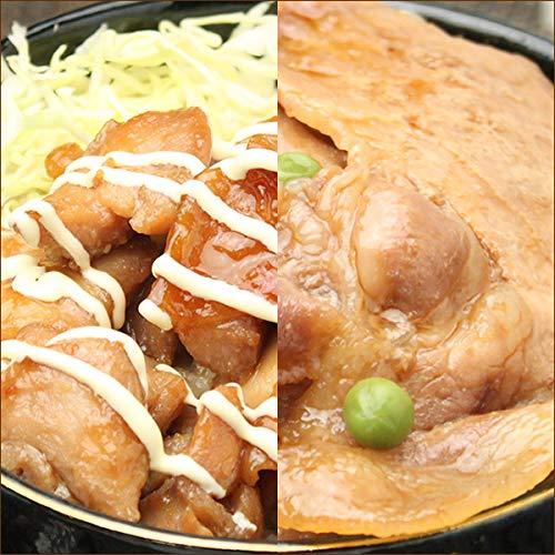 北海道 丼物 どんぶりの具 10食セット (豚丼の具(5食)+焼き鳥丼の具(5食)) 肉の山本