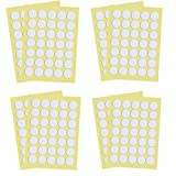 Tangser Candle Wick Stickers for Candle Making, 420 Pieces, Diameter 0.79 Inch, Made of Heat Resistance Double-Sided Stickers