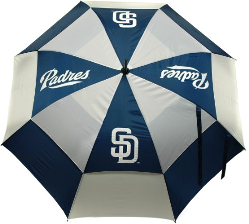 Purchase Team Golf MLB San Diego Padres 62 Golf Umbrella with Protective Sheath, Double Canopy Wind...