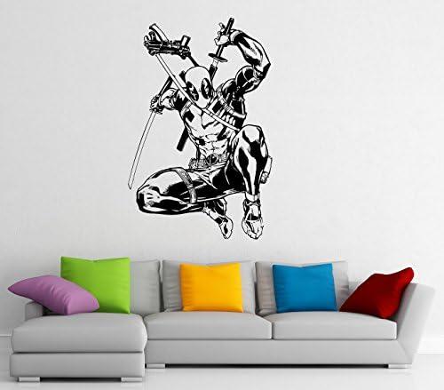 Deadpool wall decal