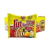 Ottogi Jin Ramen, Spicy Flavor - Korean Instant Ramen Noodle 18 Count (Pack of 1) (오뚜기 진라면 매운맛)