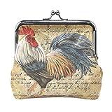 LIANCHENYI - Portafogli vintage per pollame, gallo...
