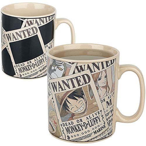 ABYstyle - ONE PIECE - thermisch reaktiv Tasse - 460 ml - Wanted