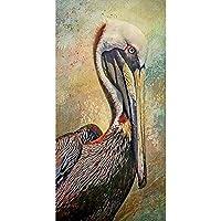 5DフルドリルダイヤモンドDIYアートクラフト絵画キット、クリスタルダイヤモンドクロスステッチラインストーン壁面装飾、10パターン17.7 * 33.5in bird-17.7*33.5in