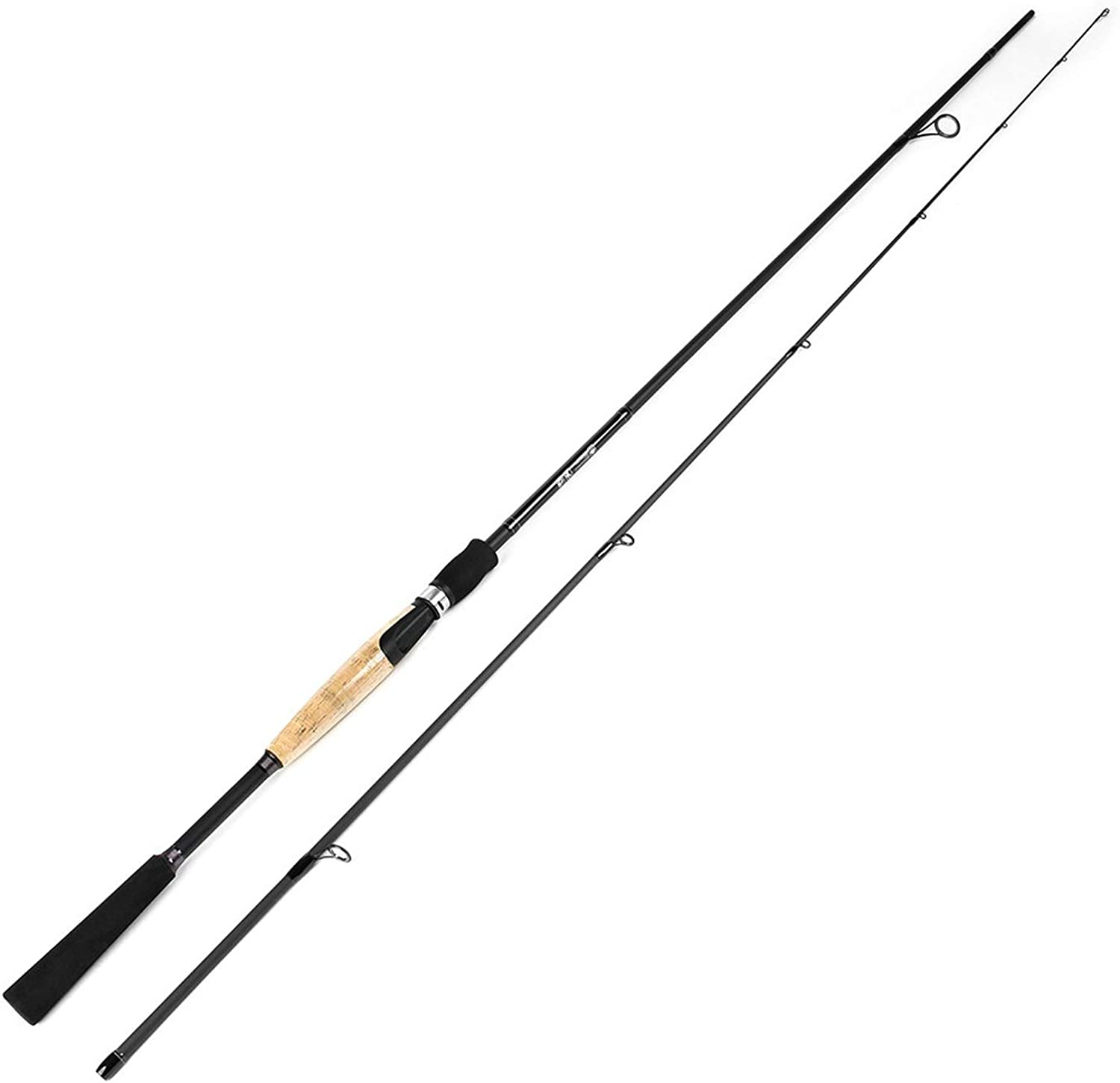 80% Carbon Spinning Fishing Rod 1.89M 2.1M 2.4M 2.7M Super Hard 2 Sections Fishing Rod for Squid Pike Fishing Pole,1.89M(317G),Russian Federation