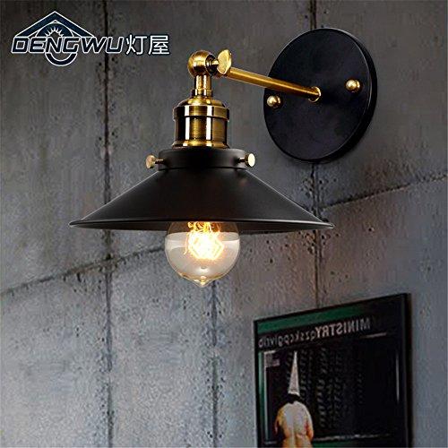 DengWu Wandverlichting, retro industrieel bed, bedlampje, eenvoudig, moderne trap, terras, outdoor, strijkijzer