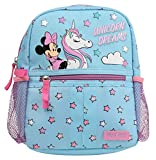 Disney Minnie Mouse Toddler Girls Mini Backpack with Harness Straps with Minnie Unicorn Dreams Print