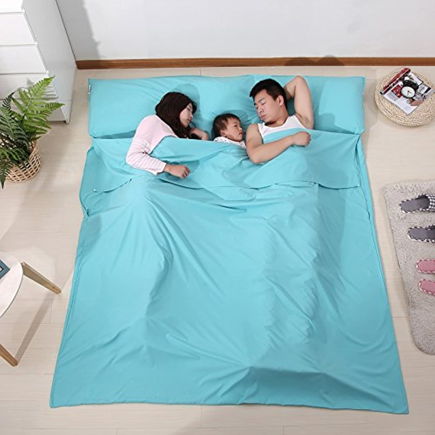 Travel Sleeping Bags Adult Double Ultrathin Portable Hotel Hotel Supplies Stained Bed Sheets Quilt Pillowcases Cotton