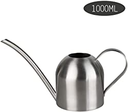 Asdfnfa Gardening Tools Watering Can Stainless Steel Watering Pot Potted Small Sprayer Indoor Watering Flower Kettle 1000ml Spray Bottle