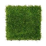 金源リビング 人工芝 ジョイント 人工芝マット 正方形 27枚セット 30X30cm まるで天然芝 タイル diy 組み立て簡単 ベランダ ガーデン
