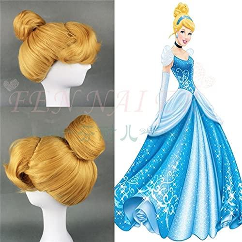 Snow White Hair Ralph Breaks the Internet Cosplay Wig Princess Rapunzel Belle Aurora Merida Moana Cinderella Jasmine Ariel Tiana Cinderella