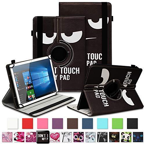 NAUC Tablet Schutzhülle für TrekStor SurfTab xintron i 10.1 Tasche Tablettasche Hülle mit Standfunktion 360° drehbar Kunst-Leder Cover viele Universal Tablethülle Case, Farben:Motiv 5
