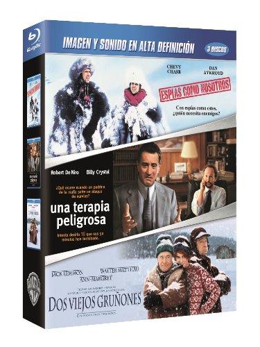 Pack: Espías Como Nosotros + Una Terapia Peligrosa + Dos Viejos Gruñones [Blu-ray] [Spanien Import mit deutscher Sprache]