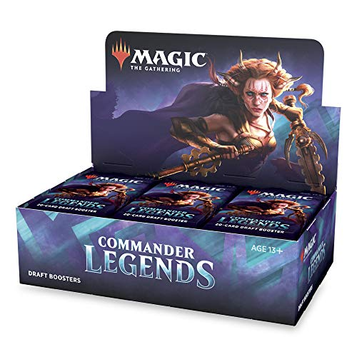 Magic: The Gathering Commander Legends Draft Booster Box | 24