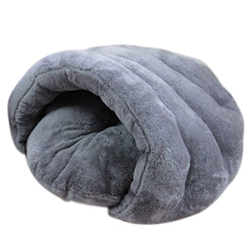 haoun Cozy Cuddle Cueva Cama para mascotas extraíble con cojín cubierto con capucha para mascotas zona de sueño para gatos y cachorros