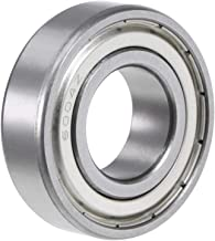 uxcell 6004ZZ Deep Groove Ball Bearing 20x42x12mm Double Shielded Chrome Steel Bearings 1-Pack