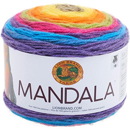 Lion Brand Yarn 525-209 Mandala Yarn, Gnome,