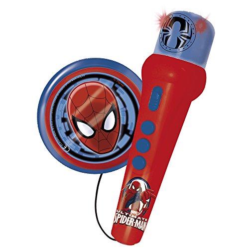 Reig/spiderman - 568 - Accessoire pour Instrument De Musique - Micro avec Ampli Et Rythmes - Spiderman