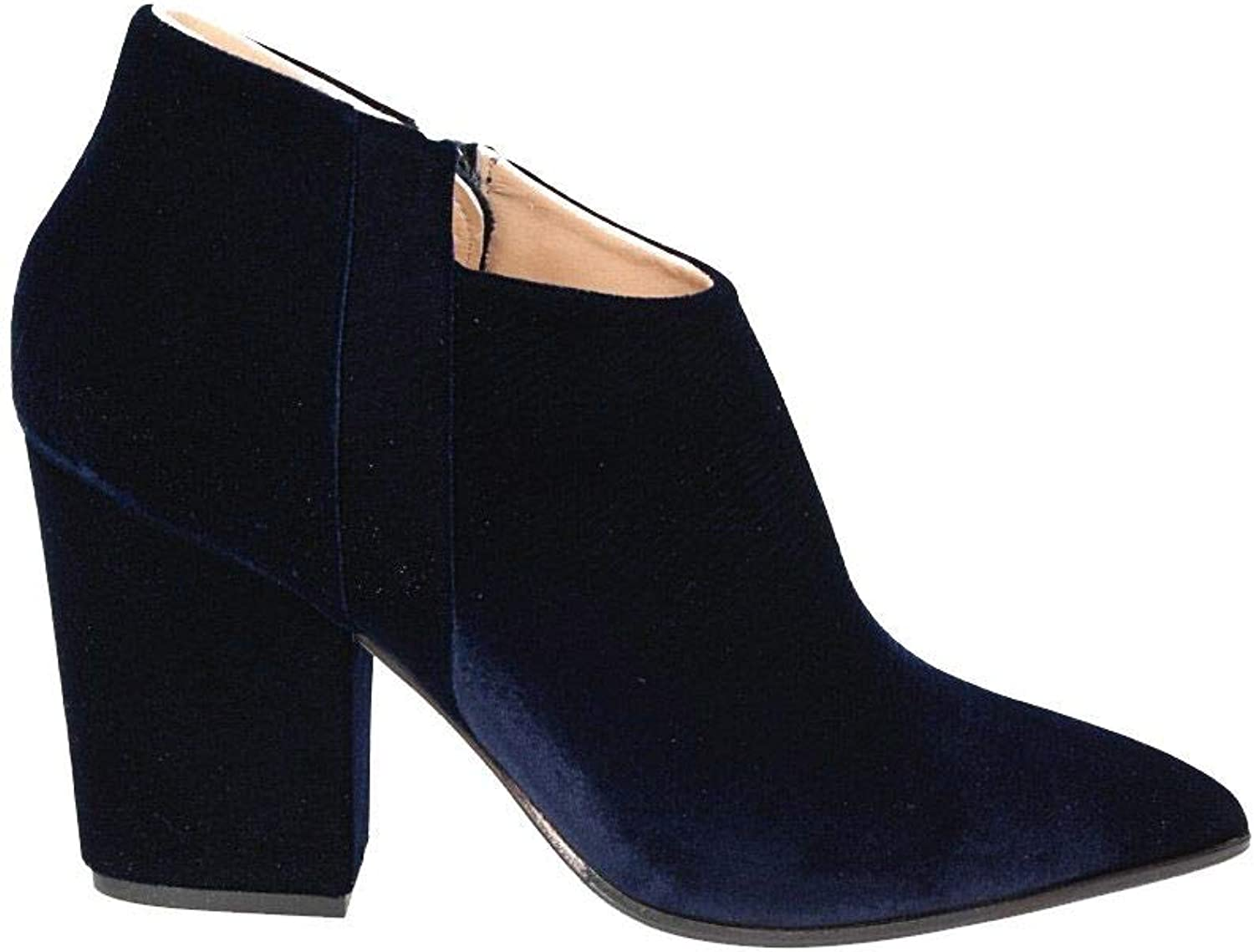 THE SELLER Women's 5280BLACK bluee Suede Ankle Boots