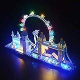 Kit de iluminación LED para lego 21034 Modelo de bloques de construcción, juego de luces compatible con Architecture London Skyline Collection (NO incluido el modelo)