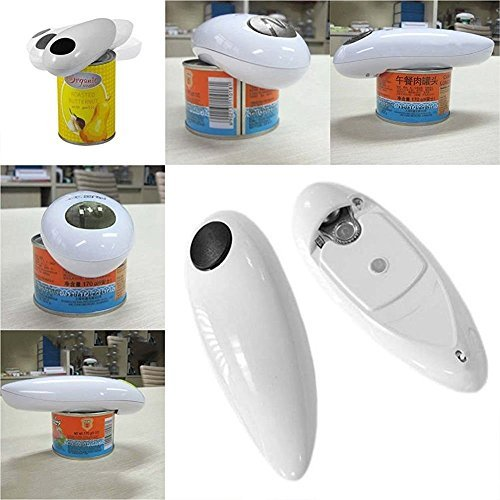 Ministry of Warehouse One Touch Automatic Electric Tin Can Opener Bottle Tin Can Open Tool Kitchen US