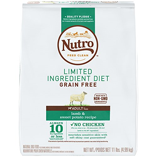 NUTRO Limited Ingredient Diet Adult Dry Dog Food...