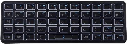 Tubayia Universal Bluetooth Tastatur Hintergrundbeleuchtung Tragbare Kabellose Tastatur Wireless Keyboard Schätzpreis : 14,99 €