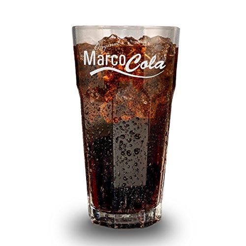 Longdrinkglas mit Gravur - Cocktail-Glas 480 ml - Barglas personalisiert mit Namen - Geschenk-Idee zum Geburtstag - Motiv Original Cola