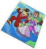 PUZZLE 96 PIEZAS VUELTA AL MUNDO EN 80 DIAS rompecabezas educativo puzle