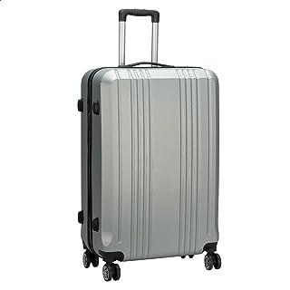 JB Luggage Trolley Travel Bag, Size 28 - Silver