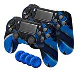 Ardistel - Silicone Sleeve Gamer Dual Kit Blackfire (PS4)