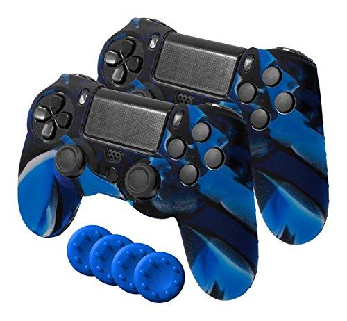 Ardistel - Silicone Sleeve Gamer Dual Kit Blackfire (PS4)