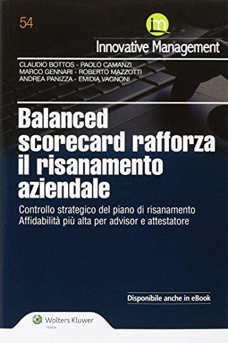 Balanced scorecard rafforza il risanamento aziendale